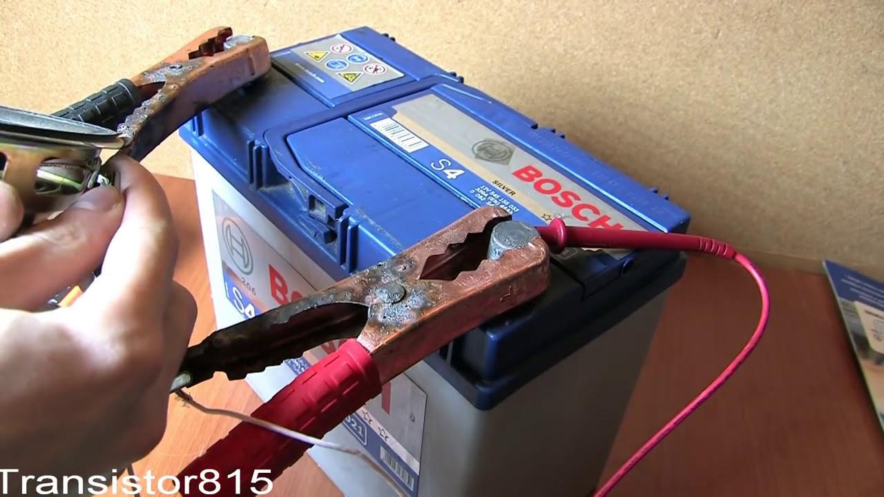 восстановление гелевого аккумулятора