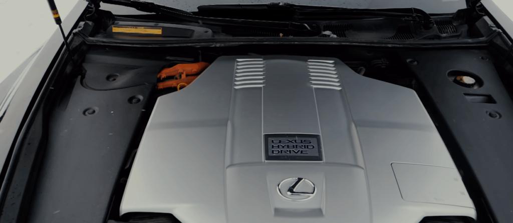 Lexus LS 600h dvigatel