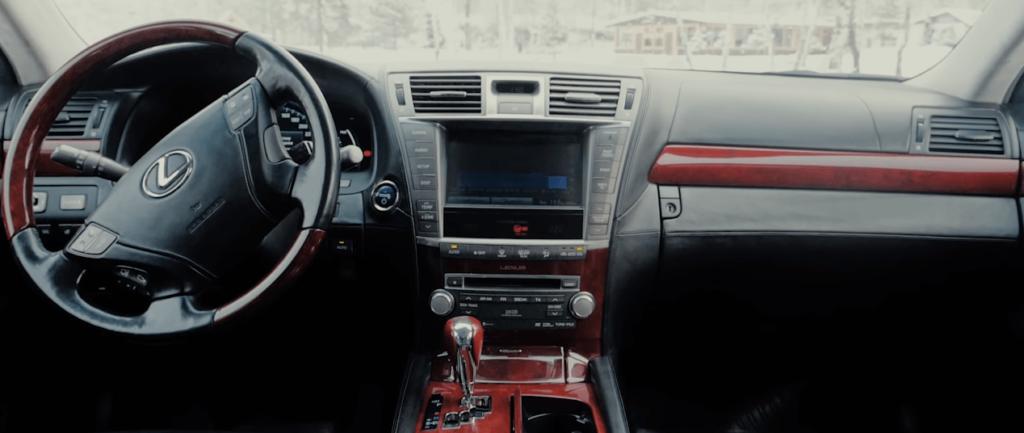 Lexus LS 600h salon