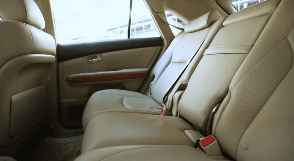 Lexus RX 400h салон сиденья