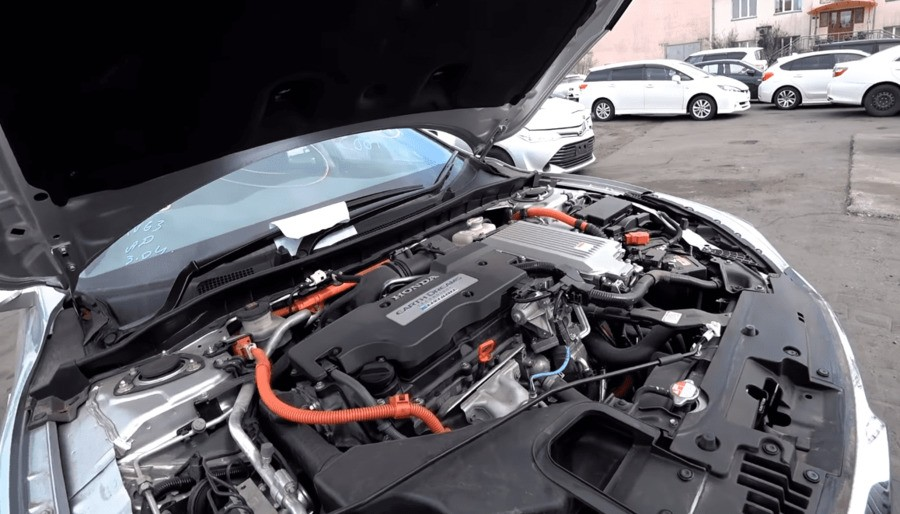 Двигатель Хонда аккорд гибрид