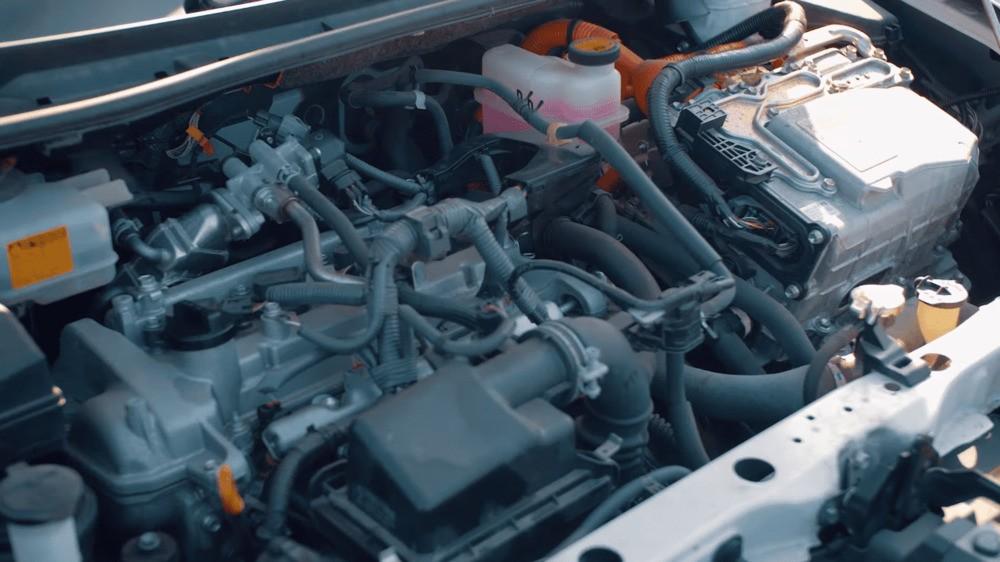 Тойота Филдер гибрид двигатель