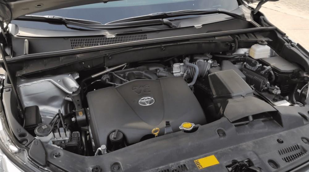 Тойота Хайлендер гибрид двигатель