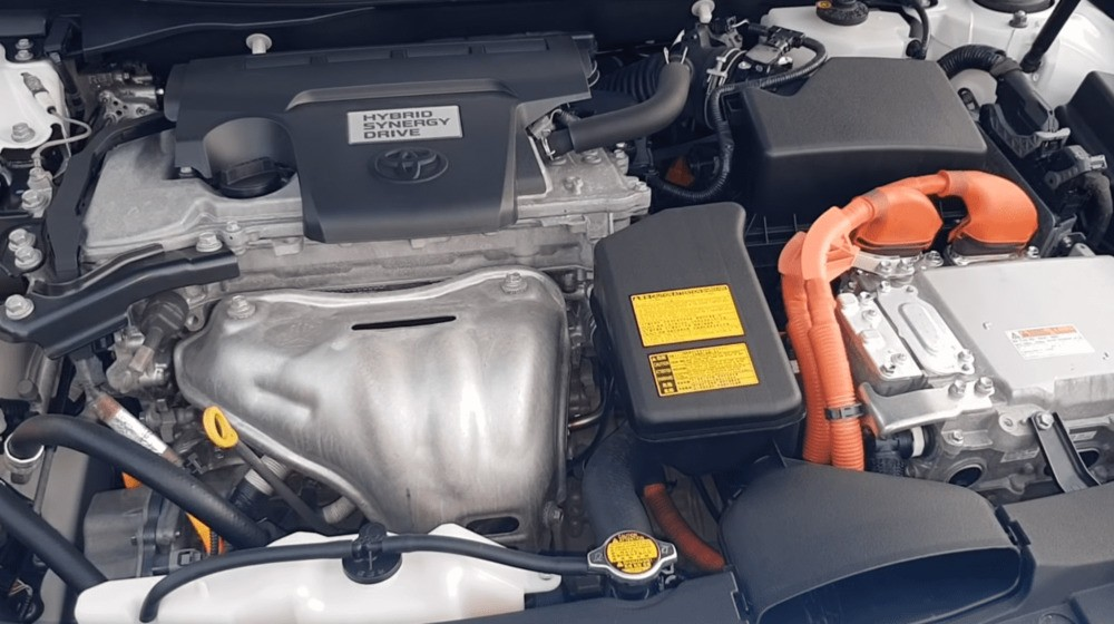 Тойота Камри гибрид двигатель