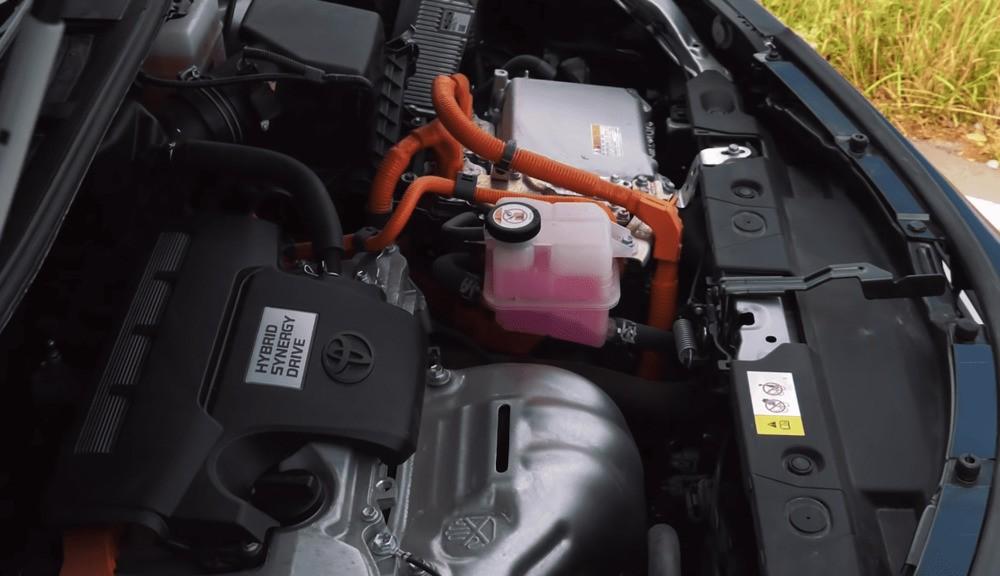 Тойота Рав 4 гибрид двигатель