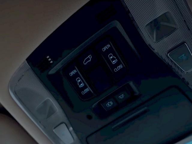 Кнопки открывания задних автоматических дверей