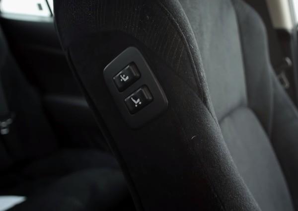 Кнопки управления спинкой сиденья