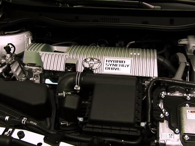 Тойота Аурис гибрид двигатель
