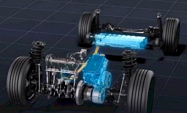 Гибридная установка Toyota Prius Prime