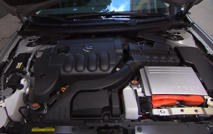 Nissan Altima гибрид двигатель