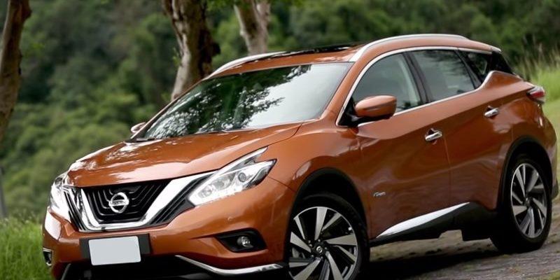 Nissan Murano Hybrid Вид спереди