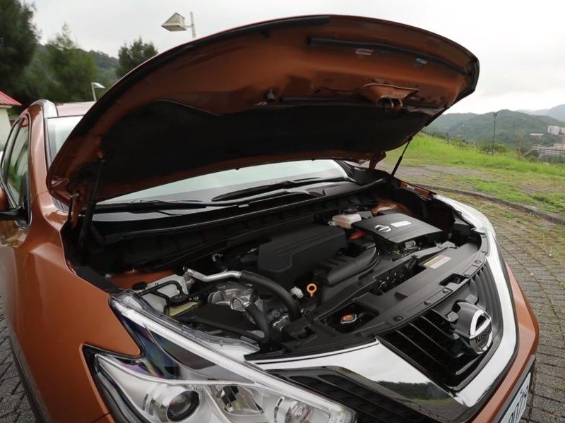 Nissan Murano Hybrid двигатель