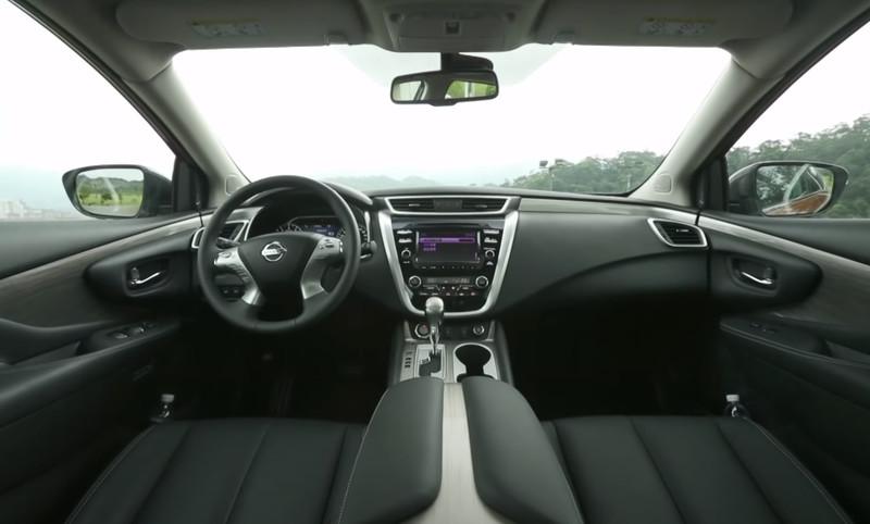Nissan Murano Hybrid салон