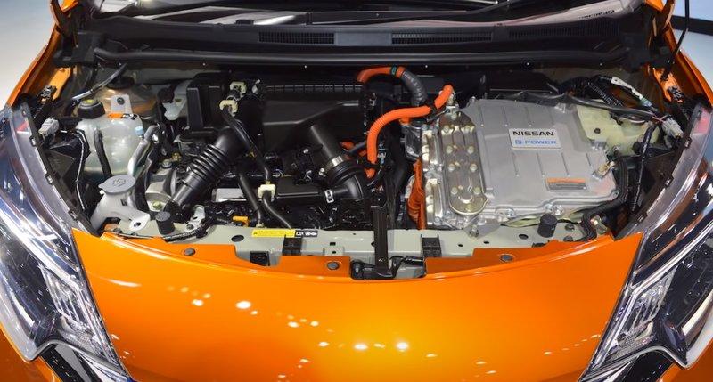 Nissan Note гибридный двигатель