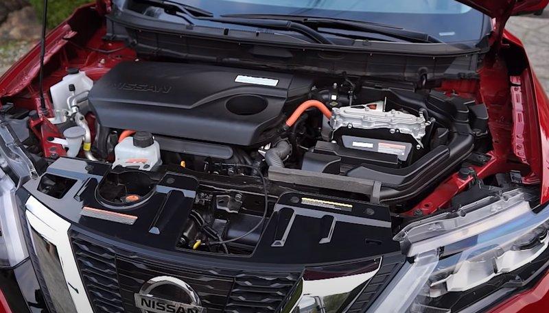 Nissan Rogue гибрид двигатель