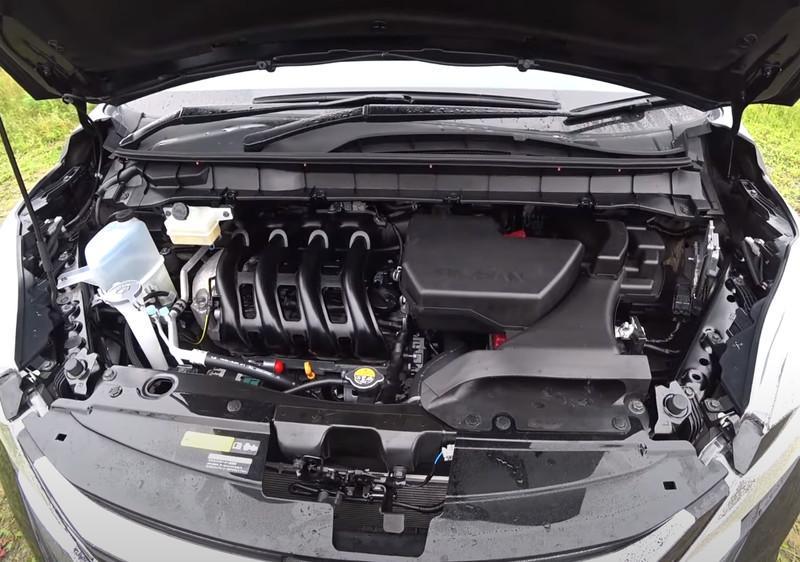 Nissan Serena гибридный двигатель