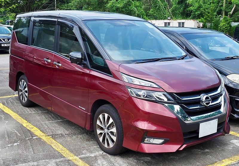 Nissan Serena hybrid 2018