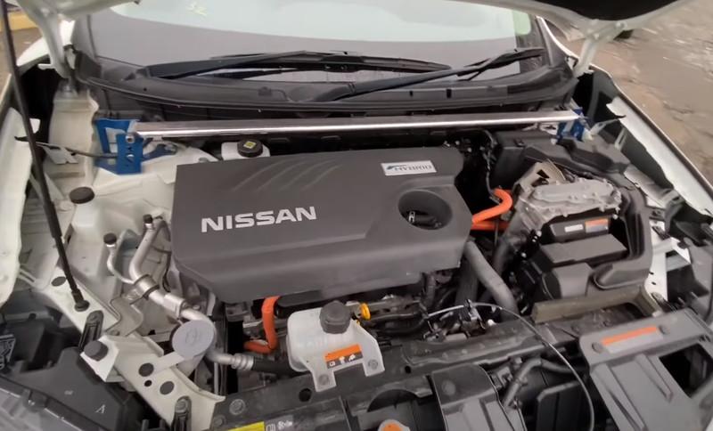 Nissan X-Trail Hybrid двигатель