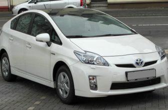 Toyota Prius ZVW30, третье поколение вид спереди
