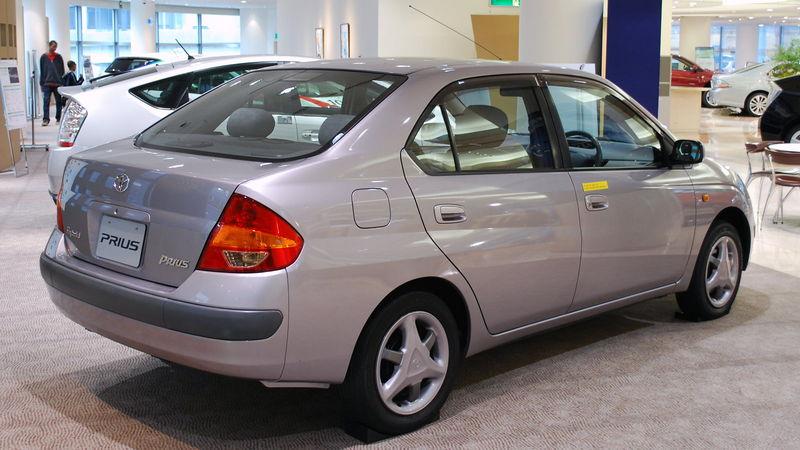 Toyota Prius кузов 10, 1997-2003