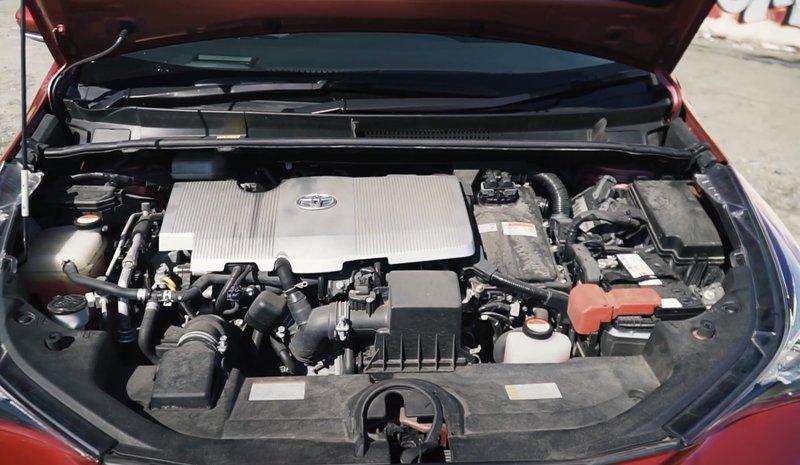 Гибридный двигатель Toyota Prius в кузове 50, четвертое поколение