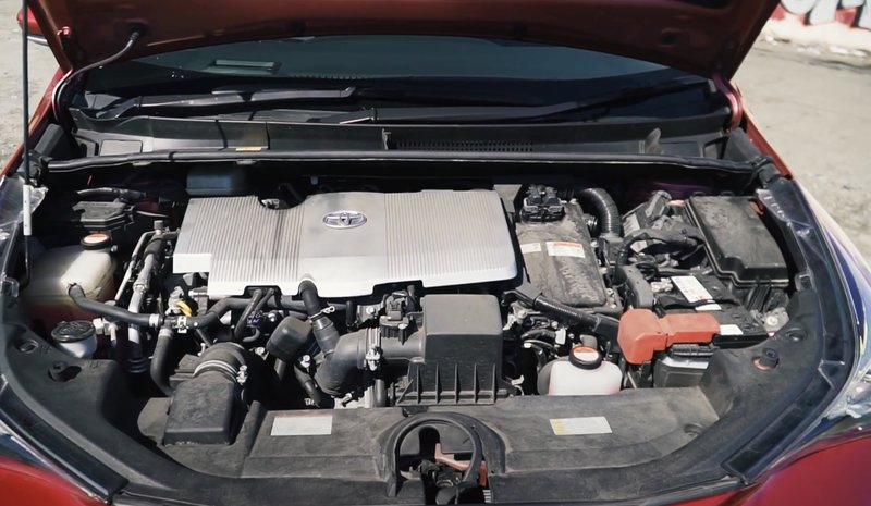 Двигатель Приуса 50