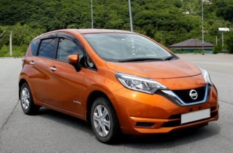 Nissan Note гибрид