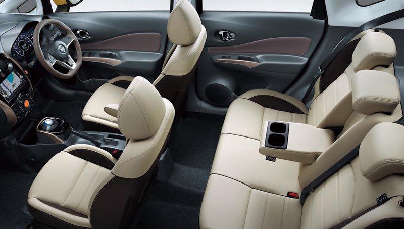 Nissan Note гибрид салон