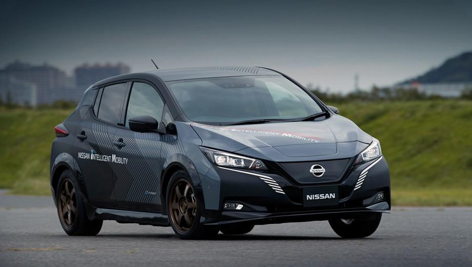 Внешний вид Nissan Leaf 2020