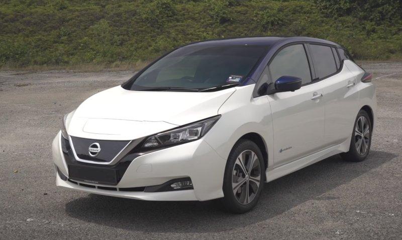 Внешний вид Nissan Leaf 2019