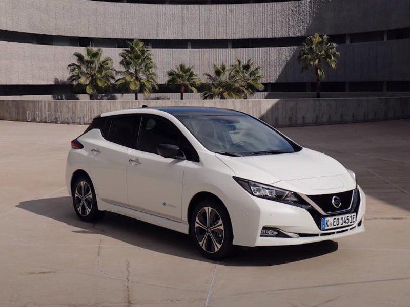 Внешний вид Nissan Leaf