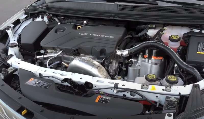 Chevrolet Volt двигатель