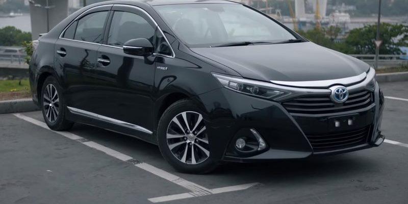 Toyota Sai гибрид