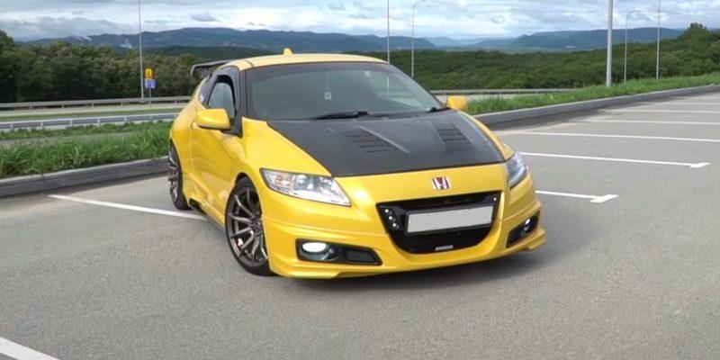 Honda CR-Z гибрид