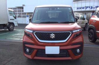 Suzuki Solio гибрид