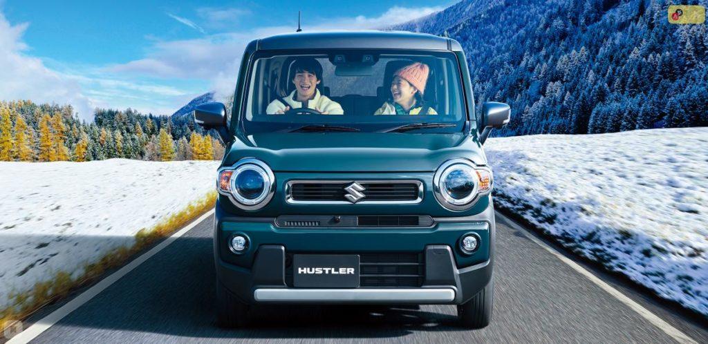 Suzuki Hustler гибрид