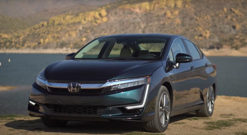 Honda Clarity Plug-in Hybrid 2018: фото, цены, характеристики