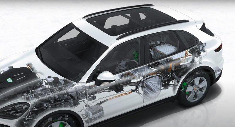 Расположение батареи в автомобиле