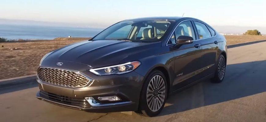Ford Fusion Energi plug-in Hybrid 2017