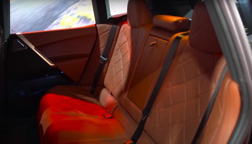 Заднее сиденье
