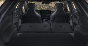Багажник - сиденья сложены